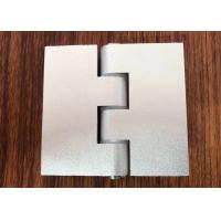 Wholesale 180 Degree Aluminium Industrial Profile Silver Anodizzed Hinge Door Accessories from china suppliers