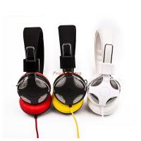 Wholesale learning headphone with noise cancelling ear cushion with sound reduction in customized color red yellow and white from china suppliers