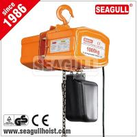Wholesale 1 ton / 1 tonne / 1t electric chain hoist , electric mni crane 12 v from china suppliers