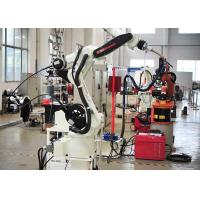 Wholesale Stainless Steel Robotic Automation Systems , Auto Exhaust Pipe Robotic Arm Welding Machine from china suppliers