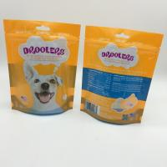 China Custom Logo Printin stand up pouch , costco dog food yellow bag wholesale