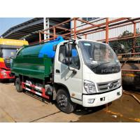 Wholesale Sewage Suction Cleaning Truck 5000 Liters Dust Tank With 2000 Liters High Pressure Water Tank from china suppliers