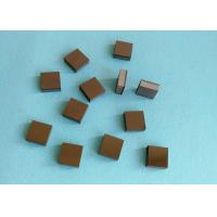 Quality Tips Square PCD Cutting Tool Blanks Diamond And Tungsten Carbide Brazed for sale