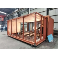Buy cheap Energy Conservation 20ft Coffee Shop Shipping Container from wholesalers