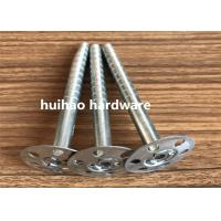 Wholesale Galvanized Steel Rock Wool Insulation Anchor pins With 35mm Round Washer Base from china suppliers