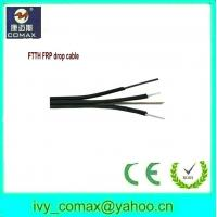 Wholesale FTTH FRP drop cable with messenger from china suppliers