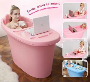 China low price food grade plastic tub PP material adult bathtub portable hot tub on sale
