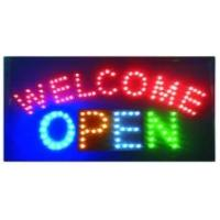 LED sign LED WELCOME OPEN sign
