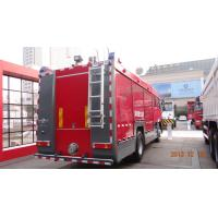 Wholesale 20CBM LHD 6X4 Fire Fighting Vehicles , Red Safety Emergency Foam Fire Truck  from china suppliers
