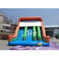 Wholesale New Heavy Duty Vertical Rush Inflatable Pool Slides For Inground Pools From China from china suppliers