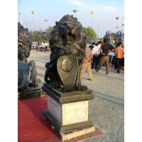 Wholesale One pair of Lions sculpture from China from china suppliers
