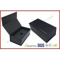 Wholesale Black High End Embossed Paper Boxes Magnetic E-Cigar Packaging from china suppliers
