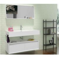 Wholesale Wall Hung  Bathroom Furniture Cabinet White Corner Bathroom Sink from china suppliers