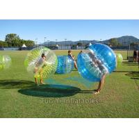 Wholesale Heat Sealed 1.2m Dia. Inflatable Human Zorb Ball 1.00mm PVC For Rental from china suppliers