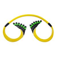 Buy cheap Optic fiber Trunk Cable SM 72core female MTP/MPO Patch Cord from wholesalers