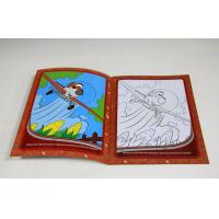 Wholesale Children Softcover Book Printing Saddle Stitching Binding With Die Cutting from china suppliers