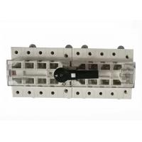 Buy cheap 3 Pole / 4 Pole Electrical Changeover Switch 63 Amp Double Throw Transfer Switch from wholesalers