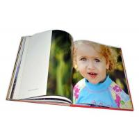 Wholesale Wedding  Classic Print Photo Book Jacket Cover Leather Bound Photo Book Printing from china suppliers