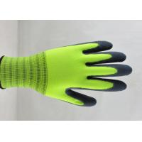 Wholesale Sandy Finish Nitrile Coated Gloves Nylon Knitted Ultimate Close Fitting from china suppliers