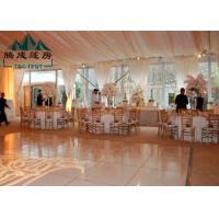 Wholesale Large Outdoor Party Tents Waterproof Clear Span For Wedding Celebrations from china suppliers