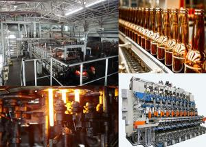 Wholesale Cosmetic Storage Bottle Glass Bottle Production Line Clear Color from china suppliers