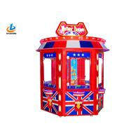 Buy cheap Big Doll Claw Crane Vending Toy Game Machine British Style Acrylic Material from wholesalers
