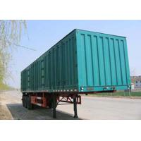 Wholesale 50ft Enclosed Steel Dry Freight Box Trailer Dry Freight Van With Three Axles from china suppliers