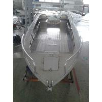 Wholesale 3.00mm V Type Aluminum Flat Bottom Boats For Fishing , CE Certification from china suppliers