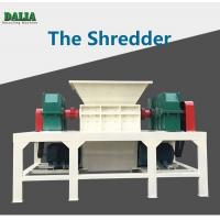 Wholesale Double Shaft Plastic Shredder Machine Large Caliber Pipe With 1000kg/h from china suppliers