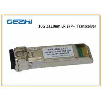 China 10km LR DDM 10G SFP+ Transceiver , LC optical fiber transceiver Compatible Cisco SFP-10G-LR wholesale