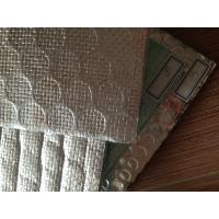 China Reflective Bubble Wrap Heat Insulation With Cloth Heat Insulation Materials 1.2x30m on sale