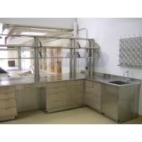 Stainless steel lab furniture manufacturers for food for Stainless steel kitchen cabinets manufacturers