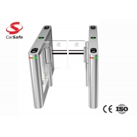Wholesale Airport Channel TCP IP Pedestrian Swing Gate 35persons/Min with high quality from china suppliers