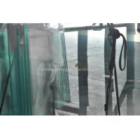 China Fencing French Green Laminated Security Glass With High Temperature wholesale