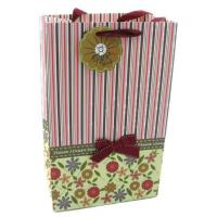 Wholesale Luxury custom Art paper Advertisement CYMK Coloured Paper Bags With Handles from china suppliers