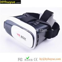 2016 New Product Google Cardboard Virtual Reality 3D VR BOX 2.0 with Game Remote Controlle