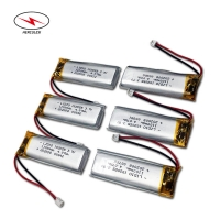 Wholesale 3.7V 4.07wh 1100mAh Polymer Lipo Battery 102055 For Beauty Meter from china suppliers