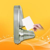 Wholesale Safety RFID Card Door Lock System Zinc Alloy With Chrome Plating Material from china suppliers