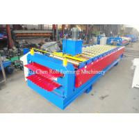 China 1.2 Inch Single Chain Drive Roof / Wall Sheet Metal Roll Forming Machines on sale
