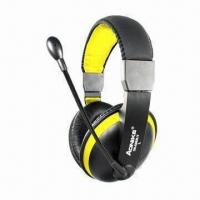 Wholesale Wired Headphones with Microphone, 20Hz to 20kHz Frequency Response from china suppliers