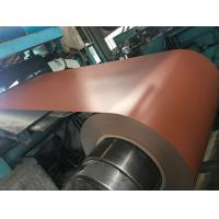 China 508MM / 610mm Prepainted Galvanized Steel Coil PPGI steel with  Colorful Surface Structrual Grade wholesale