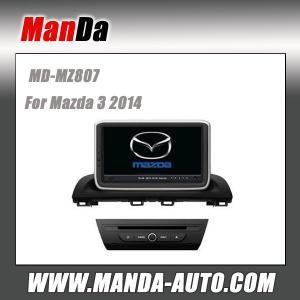 China Factory dvd car sat nav for Mazda 3 2014 car stereo headunits satellite gps radio bluetooth dvd car monitors on sale