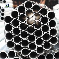 Wholesale Pipeline Systems Galvanised Steel Tube , Galvanised Metal Tube 33mm High Strength from china suppliers