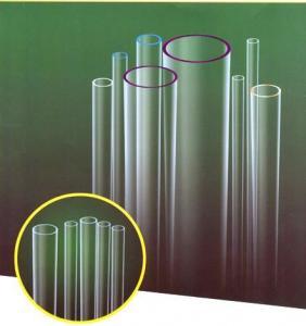 HOT!!HOT!!!Clear low borosilicate glass tube