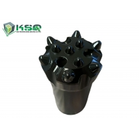 Buy cheap Flat Face 10 Ballistic Buttons T45 76mm Drill Bit For Long Hole Drilling from wholesalers