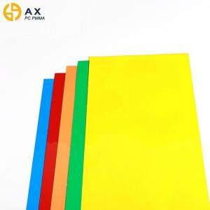 China ISO9001 2000*2300mm Colored Plexiglass Sheet on sale