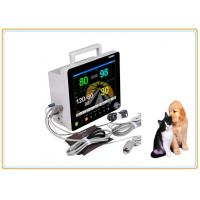 12.1 Inch Screen Vet Patient Monitor Large Storage Capacity Rechargeable Li Battery
