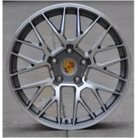 High performance casting alloy rim 19 inch 120(mm) PCD wheel black machined face