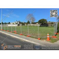 China OD 38mm Frame Pipe  Temp fence panels 2.1mx3.0m max design zinc coated 100gram/sqm on sale