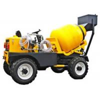 Wholesale One Axle Yellow Color Special Purpose Trucks 800L Drum 350L Concrete Equipment from china suppliers